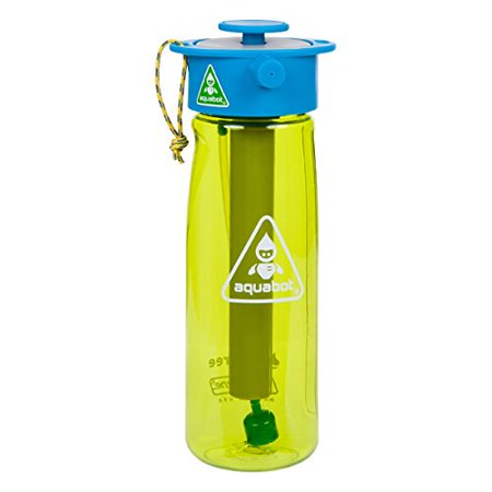 76a841b709 Aquabot sport water bottle - a pressurized mister, camp shower and hydration  in one. Portable running water for your pocket. BPA free.