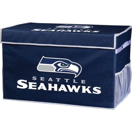 Franklin Sports NFL Seattle Seahawks Collapsible Storage Footlocker Bins - Small