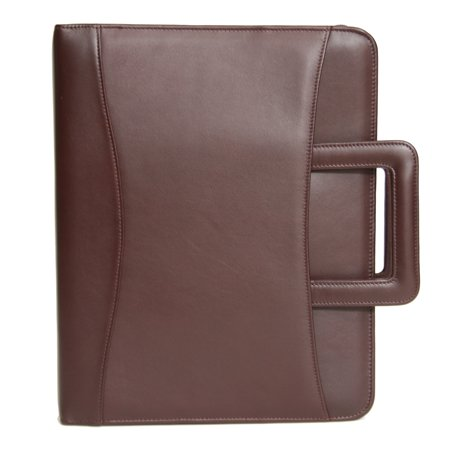 Zip Around Binder Portfolio - Ultra Bonded Leather