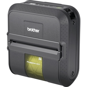 Brother RuggedJet RJ4040-K Direct Thermal Wireless Monochrome Label Printer by Brother