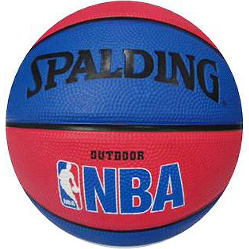 Spalding NBA Mini Ball, Red / Blue
