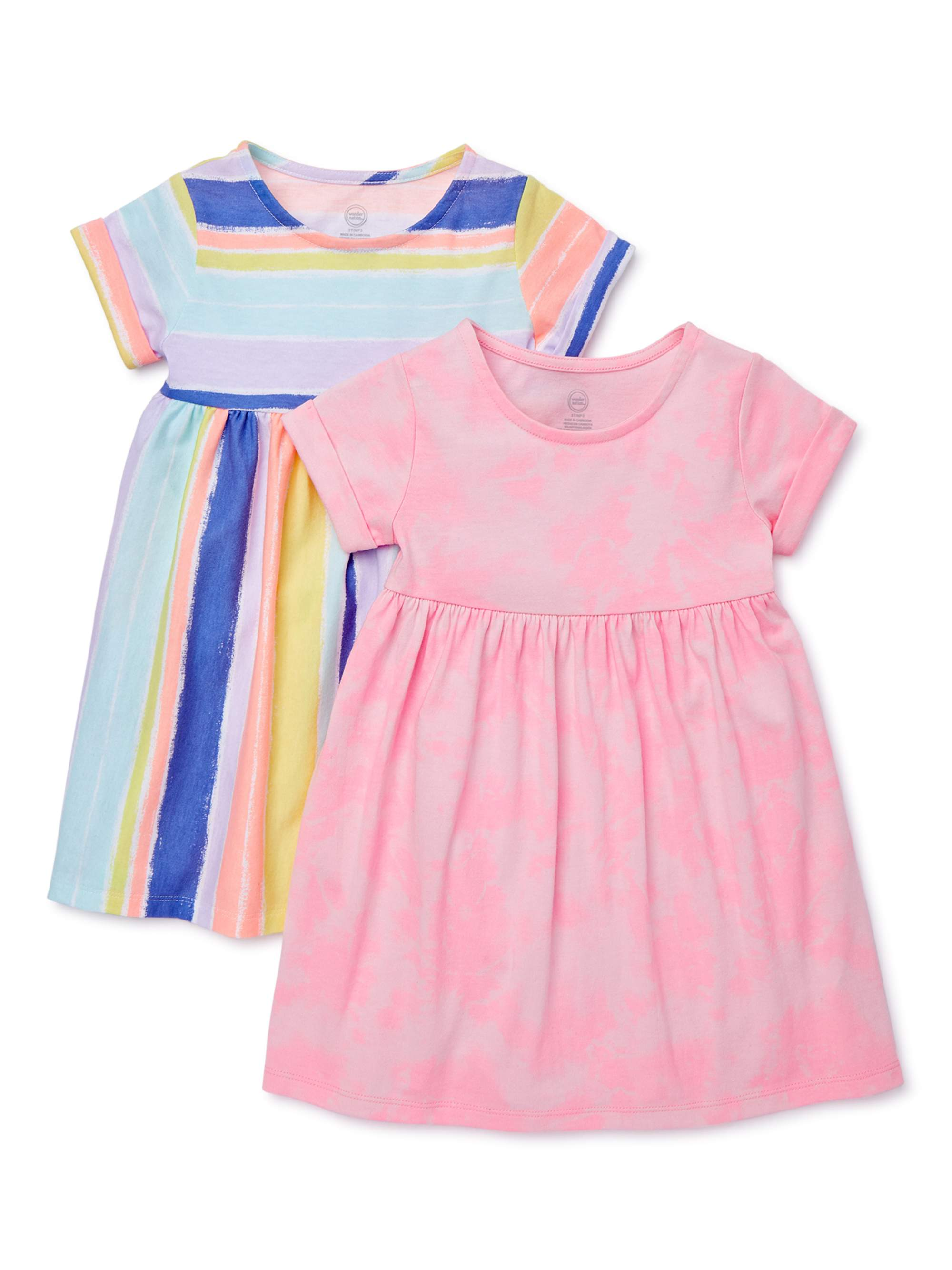 Girls School Summer Dress Red Check Age 11 2 Pack
