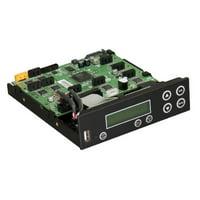 Bestduplicator Premium Series - Flash to Disc SATA CD/DVD/Blu Ray Duplicator Controller (1 to 7) - 7 Target Controller