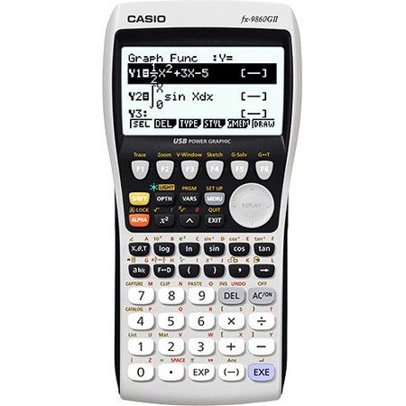 Casio Fx 9860g11 Advanced Graphing Calculator Walmart