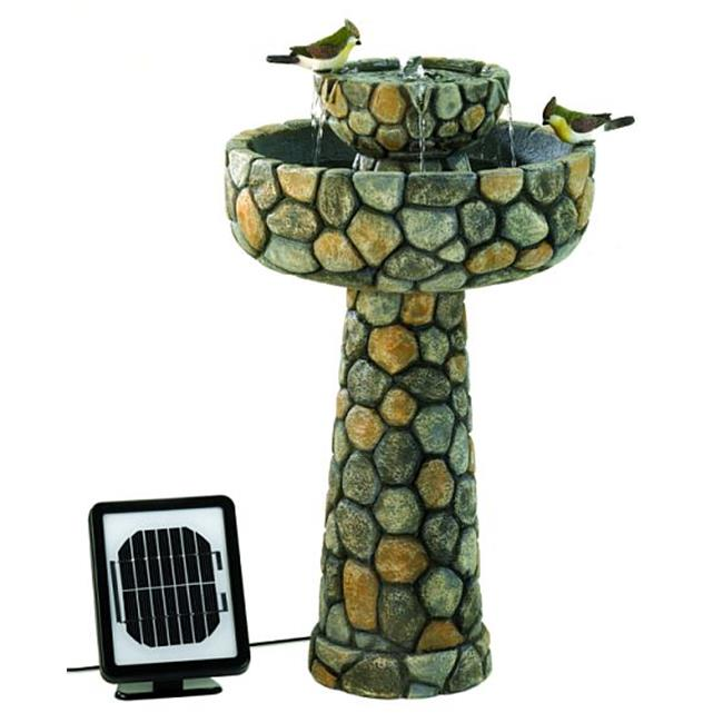 DSPS 12841029309 Wishing Well Solar Water Fountain