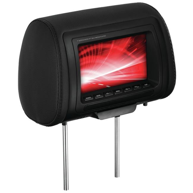 SCY AVA-HIR70BGTM Boss 7 in. Univeral Headrest With Monitor