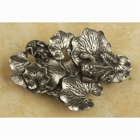 Lily pad pull pull Antique Bronze