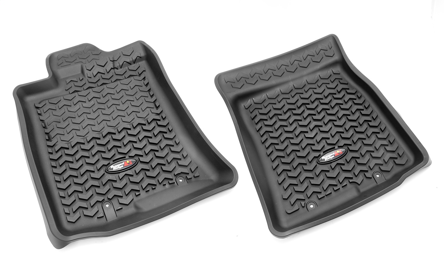 Rugged Ridge All-Terrain 82904.35 Black Front Row Floor Liner For Select Toyota FJ Cruiser Models
