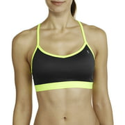 Danskin Now Women's Active Racerback Sports Bra with Mesh Back Detail