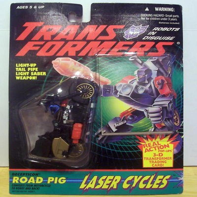 Hasbro Transformers Generation 2 Decepticon Laser Cycles ...