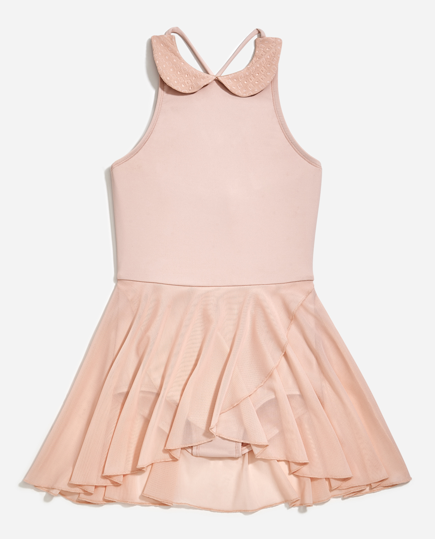 Girl's Halter Leotard Dress