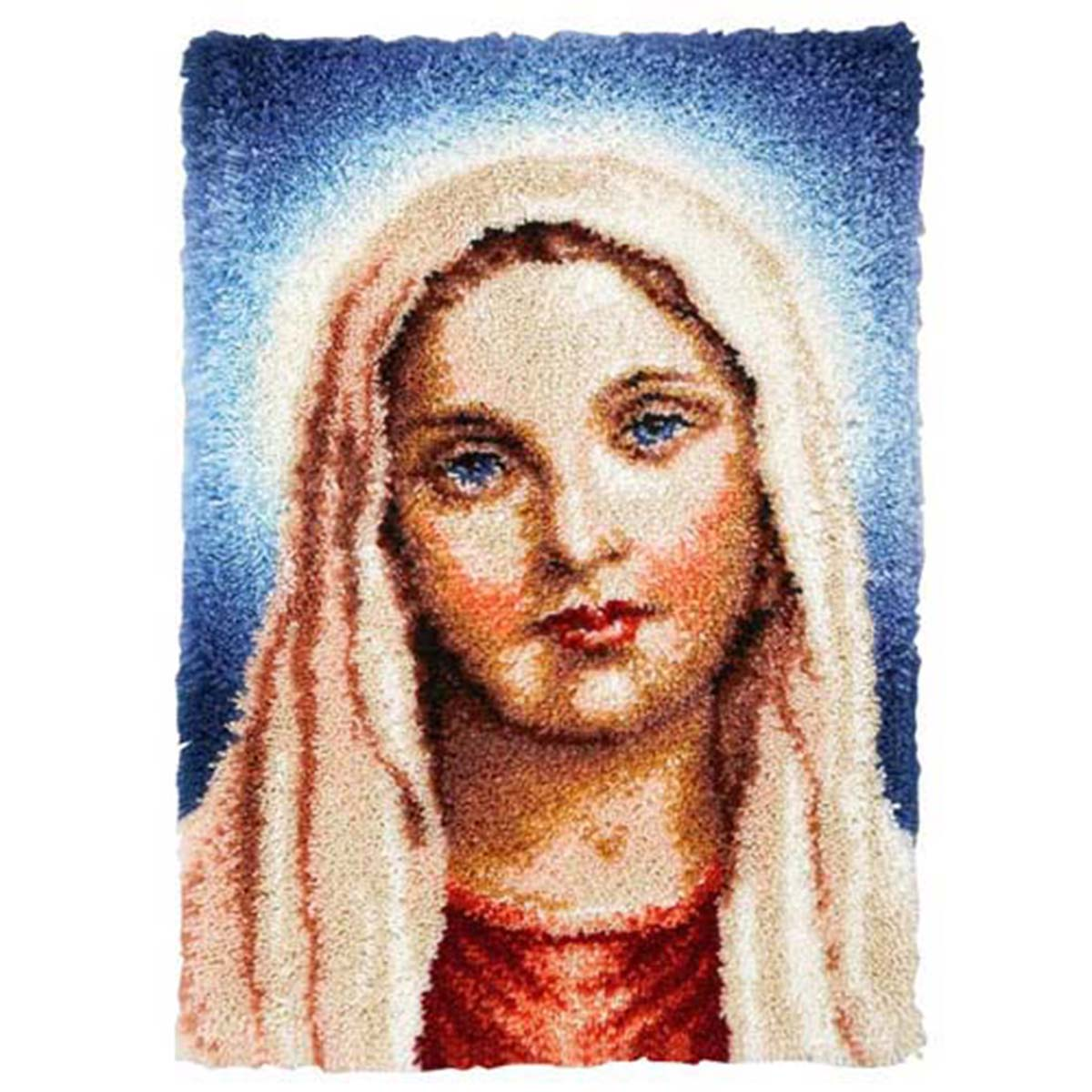 Herrschners® Blessed Mother Mary Latch Hook Kit