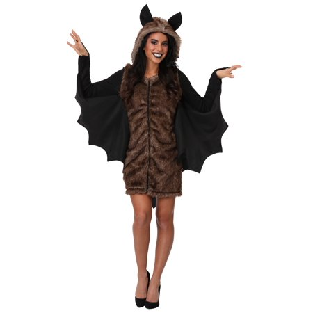 Women's Plus Size Deluxe Bat Costume - image 2 of 2