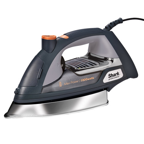 Shark Ultimate Professional Steam Iron with Cord, Silver Chrome, GI505WM