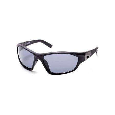 Harley-Davidson Men's Motorcycle-Inspired Sunglasses, Matte Black/Smoke Lenses, Harley Davidson