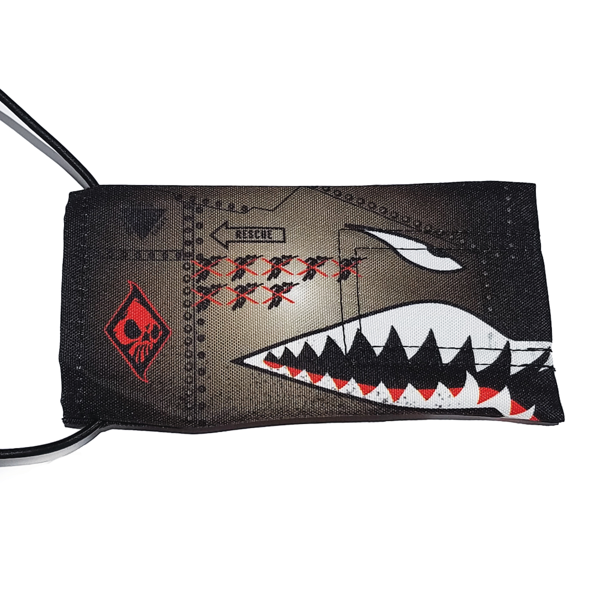 Wicked Sports Paintball Barrel Cover / Sock - Sharktooth - Gray