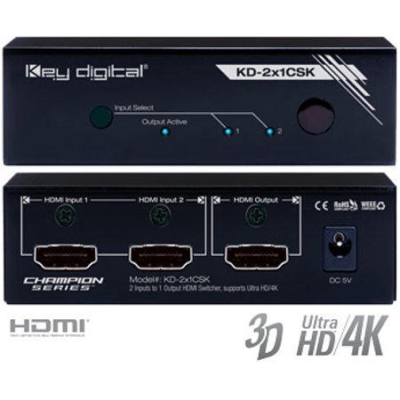 - Key Digital KD-2x1CSK Format Converters