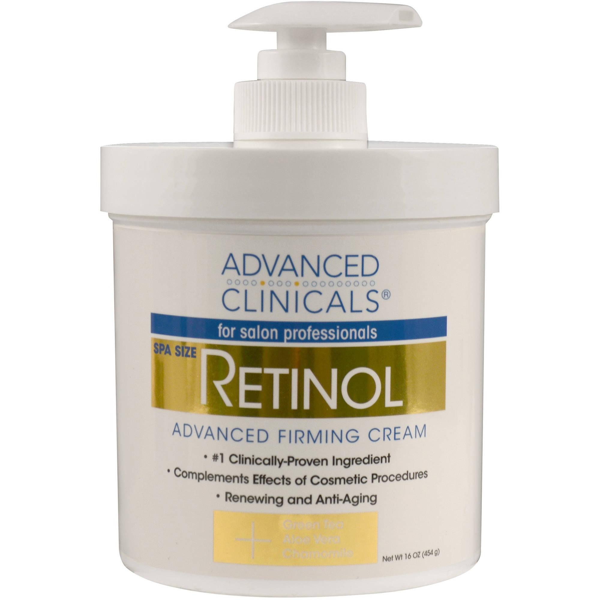 Image of Advanced Clinicals Retinol Firming Cream, 16 Oz