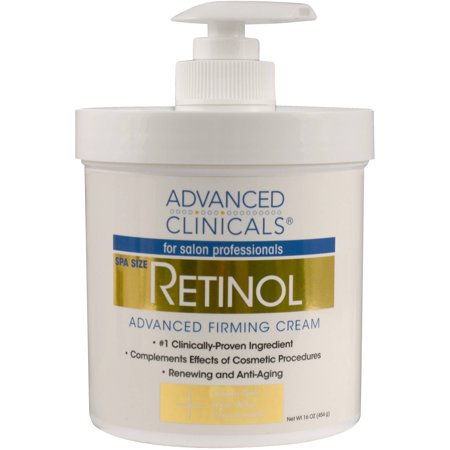 ADVANCED CLINICALS Rétinol Crème raffermissante 16 Oz