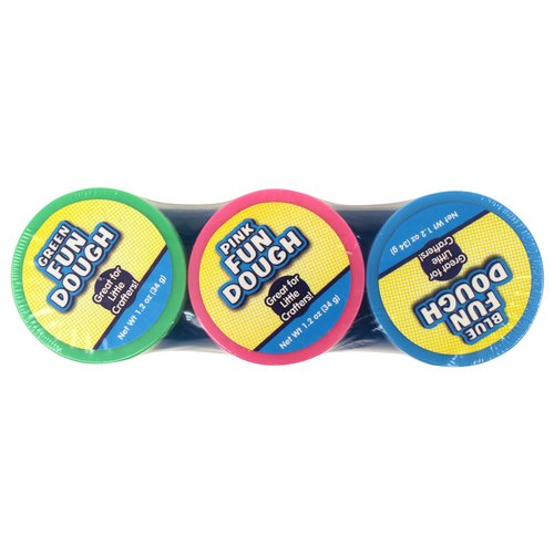 Fun Dough, 3pk