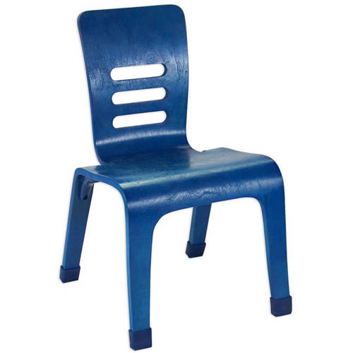 """12"""" Bentwood Chairs, Set of 2, Blue"""