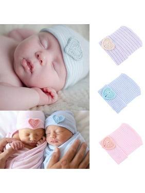 95464e3101e Product Image Cute Newborn Infant Baby Girl Comfy Bowknot Hospital Cap Warm  Soft Beanie Hat