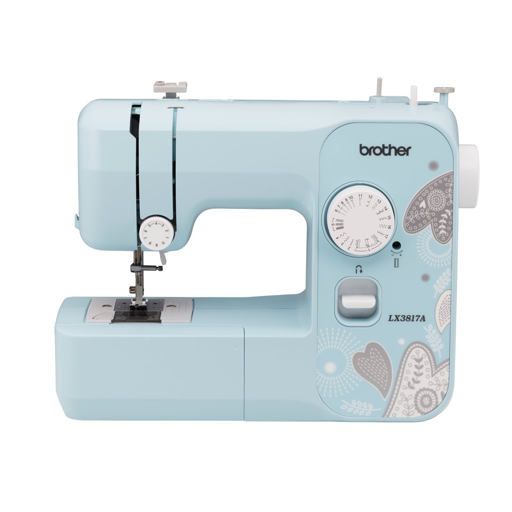 Brother LX3817A Sewing Machine with 17 Built-in Stitches and 4 Sewing Feet