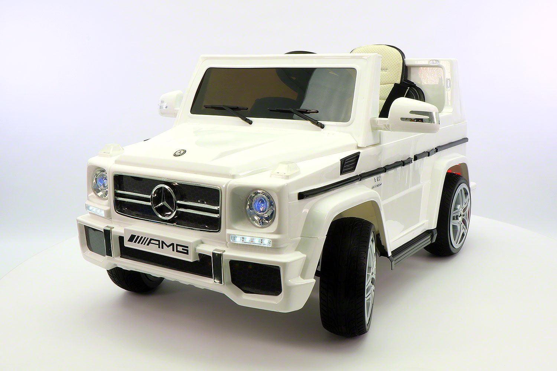 mercedes g65 amg 12v ride on truck car rc power wheels white walmart com walmart com mercedes g65 amg 12v ride on truck car rc power wheels white