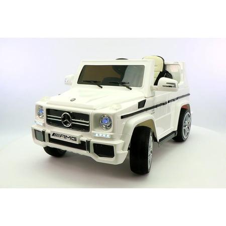 Mercedes Power Wheels >> Mercedes G65 Amg 12v Ride On Truck Car Rc Power Wheels White
