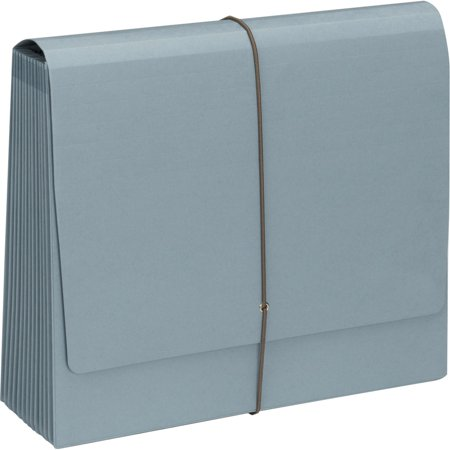 Smead, SMD70779, 100 Pct Recycled 12-pocket Expanding File, 1 Each, Blue