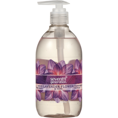 Organic Hand Soap ((3 Pack) Seventh Generation Hand Wash Soap Lavender Flower & Mint 12 oz)