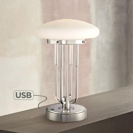 Possini Euro Design Art Deco Desk Lamp 17 1/2