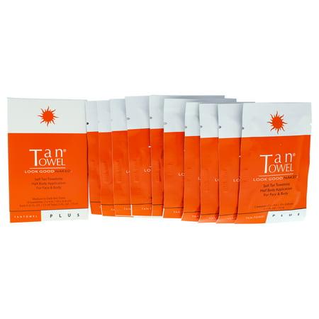 Tan Towel Self-Tan Towelette, 10