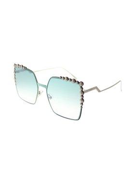 bfed29c3f3ee Product Image Fendi FF 0259/S 01ED Can Eye Green Eyewear Sunglasses