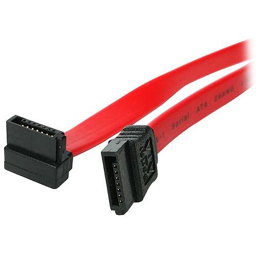 "StarTech SATA to Right Angle SATA Cable, 18"""
