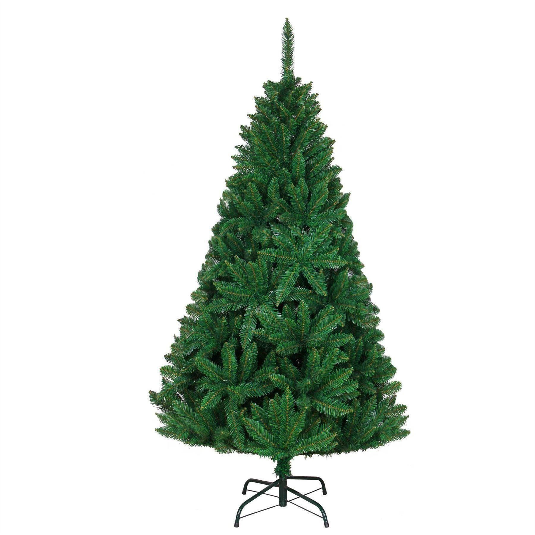 8ft Green Christmas Tree with Artificial Imperial Pine Deluxe Christmas Tree