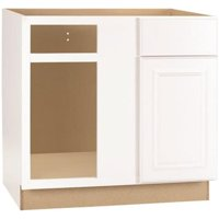 Interline 2478261 36 x 24 in. Hampton Blind Corner Base Cabinet, White