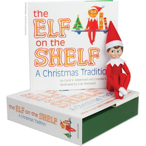 The Elf on the Shelf : A Christmas Tradition (Blue-Eyed Boy)