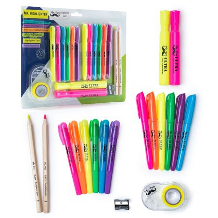 713248022b60c Mr. Pen- 18 Pc Highlighter Set Assorted Color, 6 Bible Highlighter ...