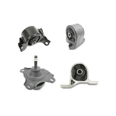 Engine Motor Transmission Mount Set 4Pcs For 2001 2005 Honda Civic 1 7L Auto Transmission 50840 S5a 980  50820 S5a A08  50810 S5a 013  Em8988  Em9016  Em8973  Em9204