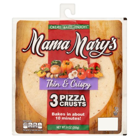 Mama Marys Pizza Crusts Thin   Crispy   3 Ct