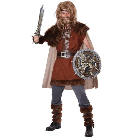 Mighty Viking Adult Costume - Viking Lady Costume