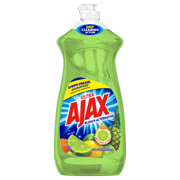 Ajax Ultra Liquid Dish Soap, Vinegar + Lime - 28 fluid ounce