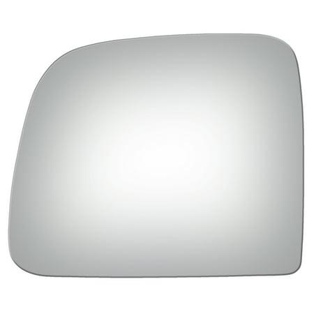 Burco 2764 Left Side Manual Mirror Glass for Ford Ranger, Mazda Truck, Van ()