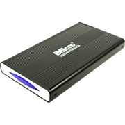 "iMicro 2.5"" USB 2.0 SATA and IDE External Drive Enclosure, Black"