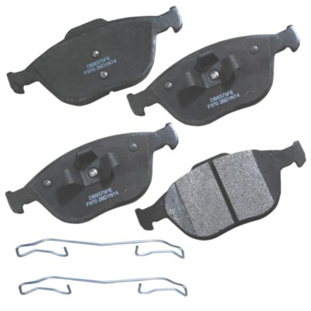 CARQUEST Frontline Severe Duty Semi-Metallic Brake Pads - Front (4-Pad Set)