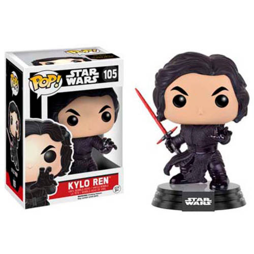 Funko POP! Star Wars: Episode 7: The Force Awakens, Kylo Ren (Fighting Pose)