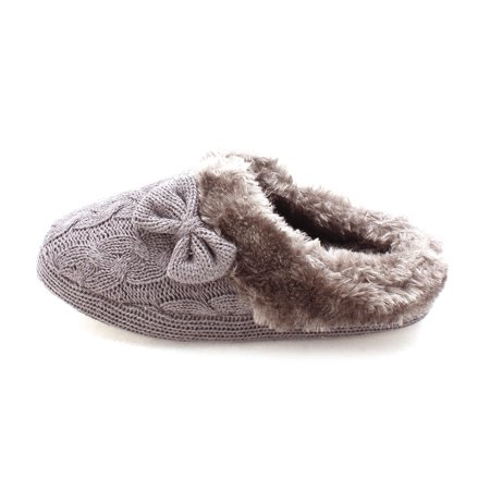 Just Fab Womens Umiat Closed Toe Slip On Slippers