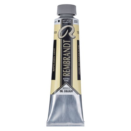- Rembrandt Artists' Oil Color, 40ml, Naples Yellow Light