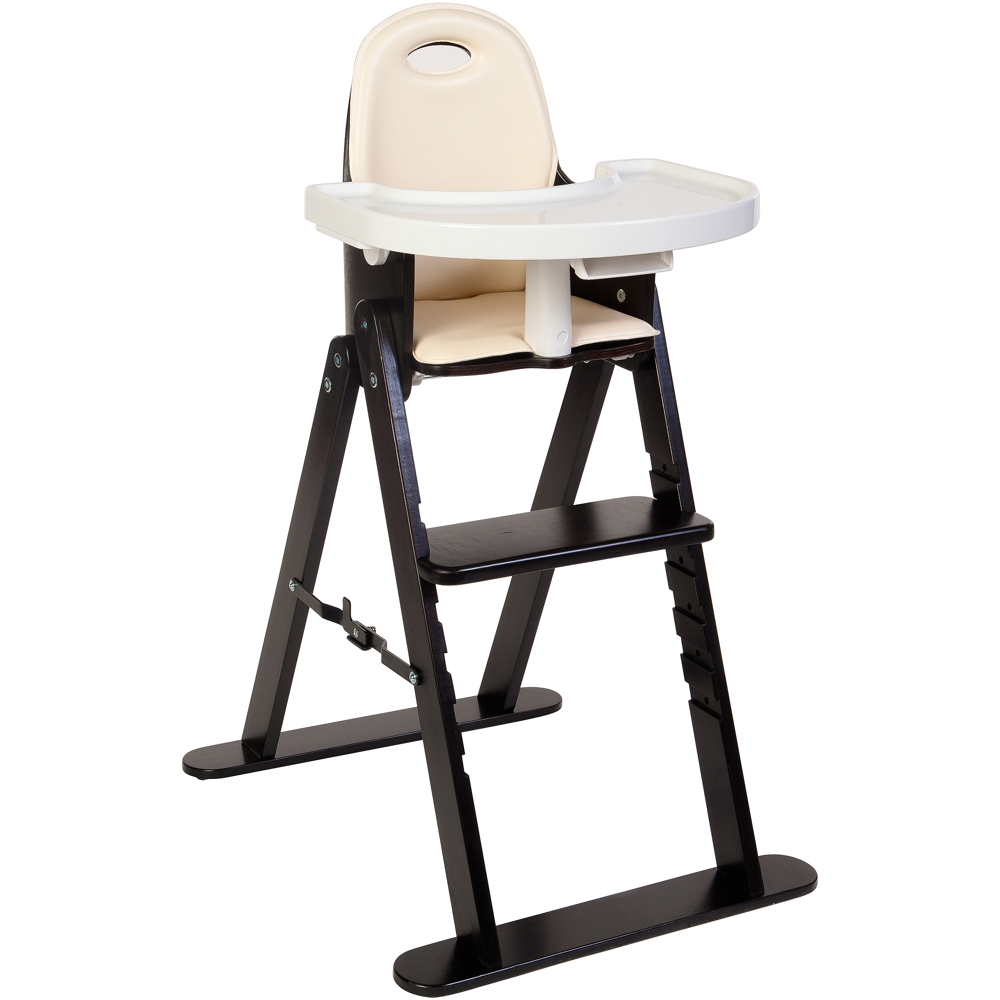 Phenomenal Svan Baby To Booster Bentwood High Chair Espresso Almond Cushion Gmtry Best Dining Table And Chair Ideas Images Gmtryco